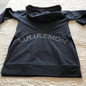 Lululemon Teal Green Tunic Hoodie